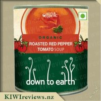 Down to Earth Organic Soup - Roasted Red Pepper and Tomato