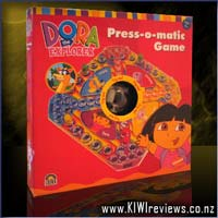 Dora the Explorer Press-o-Matic Ludo