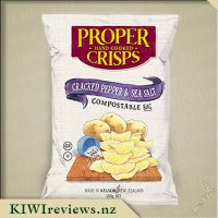 Proper Crisps - Cracked Pepper & Sea Salt