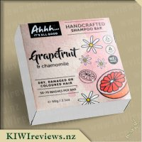 Ahhh... Grapefruit and Chamomile Shampoo Bar