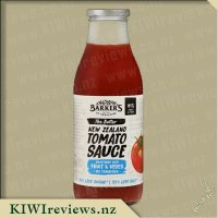 Barker's Tomato Sauce - Sweetened with Fruit and Veges