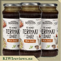 Barker's Meal Sauce - NZ Honey Teriyaki with Sake