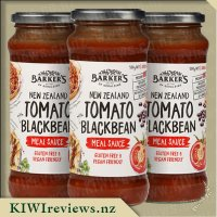 Barker's Meal Sauce - NZ Tomato with Blackbean