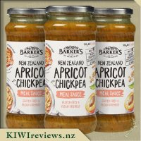 Barker's Meal Sauce - NZ Apricot with Chickpea