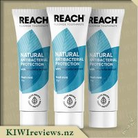 Reach Natural Antibacterial Toothpaste - Fresh Mint