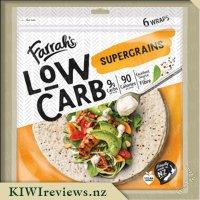 Farrah'sLowCarbTortillas-Supergrains
